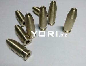 Pin Kuningan Ø 12 x40 mm ( komponen mesin )